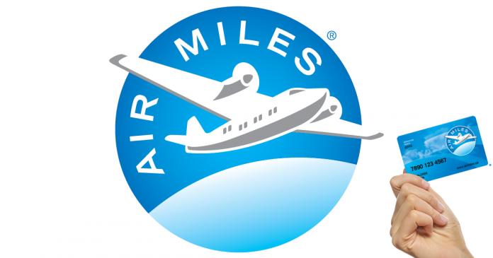 Obtenez 25 miles de récompenses Airmiles gratuitement