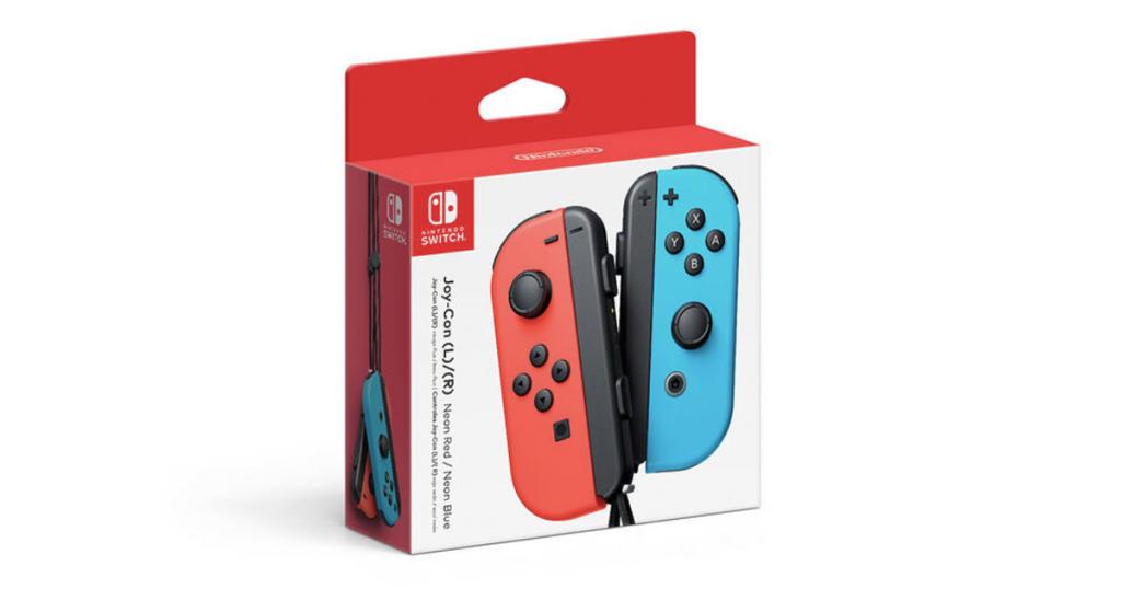Rabais du Vendredi Fou sur la paire de mannettes Joy-Con pour la console Nintendo Switch!