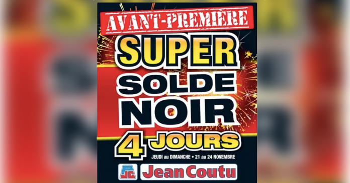 Solde du Vendredi Fou dans les pharmacies Jean Coutu